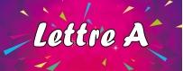 DéguiShirt.fr - Costumes & T-shirts déguisement Thème Lettre A