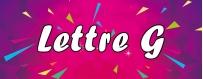 DéguiShirt.fr - Costumes & T-shirts déguisement Thème Lettre G