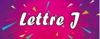 DéguiShirt.fr - Costumes & T-shirts déguisement Thème Lettre J