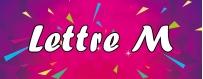 DéguiShirt.fr - Costumes & T-shirts déguisement Thème Lettre M