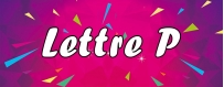DéguiShirt.fr - Costumes & T-shirts déguisement Thème Lettre P