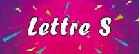 DéguiShirt.fr - Costumes & T-shirts déguisement Thème Lettre S