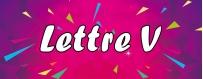DeguiShirt.fr - Costumes & T-shirts déguisement Thème Lettre V